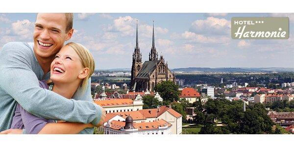 Aktivní nebo relaxační pobyt v Brně pro 2 s bazénem v ceně