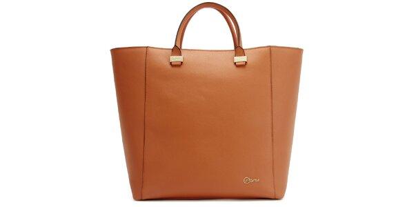 Dámská velká oranžová kabelka Florian London