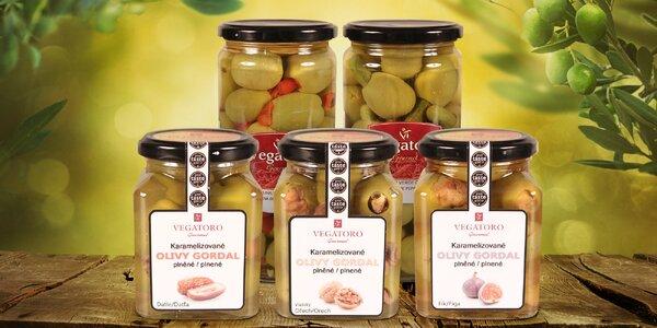 Španělský poklad: Luxusní plněné olivy Vegatoro