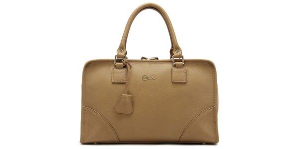 Dámská béžová kufříková kabelka Florian London