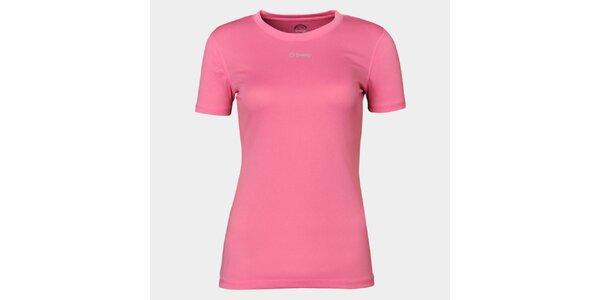 Dámské růžové funkční tričko Sweep