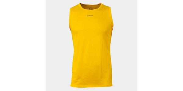 Pánské žluté funkční tílko Sweep