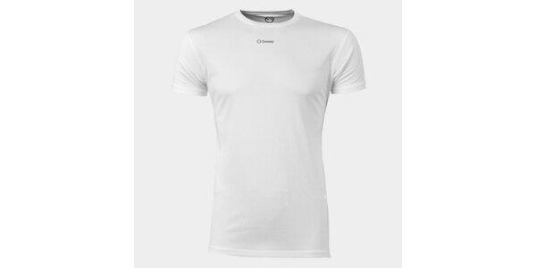 Pánské bílé funkční tričko Sweep