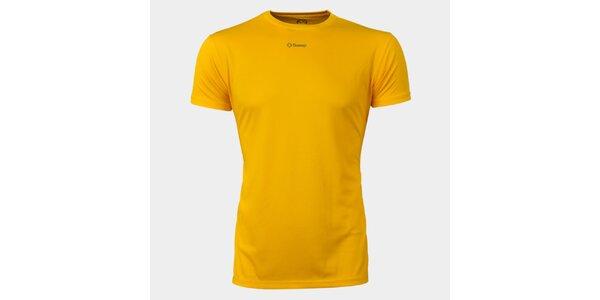 Pánské žluté funkční tričko Sweep