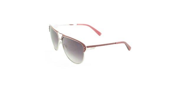 Dámské vínové sluneční brýle Just Cavalli