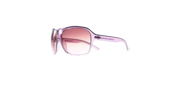 Dámské lila sluneční brýle Benetton