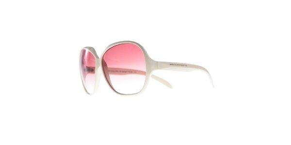 Dámské krémové sluneční brýle Benetton