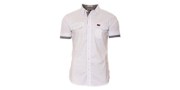 Pánská bílá košile Unitryb