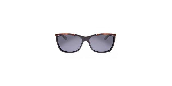 Dámské černo-hnědé sluneční brýle Oakley