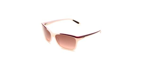 Dámské krémovo-růžové sluneční brýle Oakley