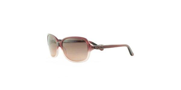Dámské tmavorůžové sluneční brýle Oakley