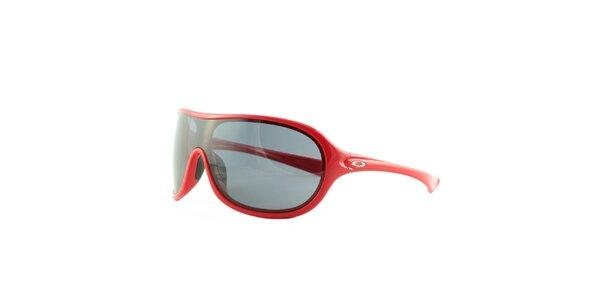 Červené sluneční brýle Oakley
