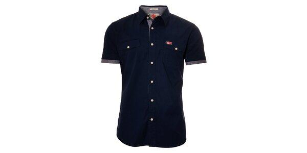 Pánská tmavě modrá košile Unitryb