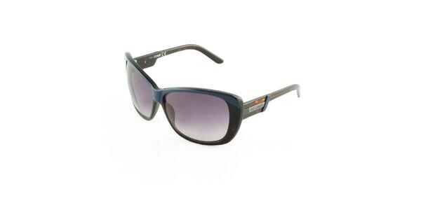 Dámské jantarovo-modré sluneční brýle Just Cavalli