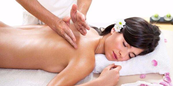 Chvíle uvolnění: hodinová masáž dle výběru