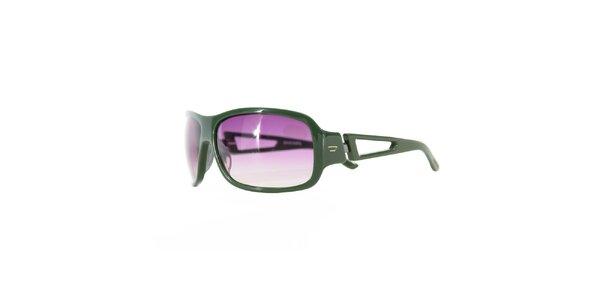 Dámské zeleno-fialové sluneční brýle Diesel