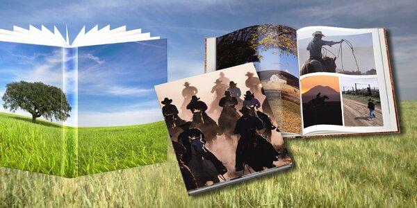 Fotokniha na křídovém papíře ve formátu A4