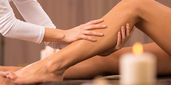 50minutová stimulační masáž dolních končetin