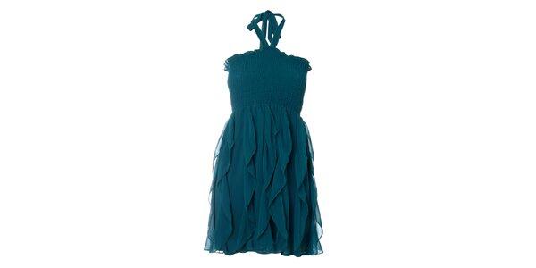 Dámské petrolejové šaty Kzell