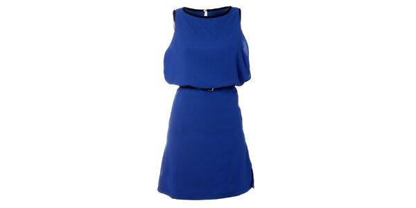 Dámské modré šaty Kzell
