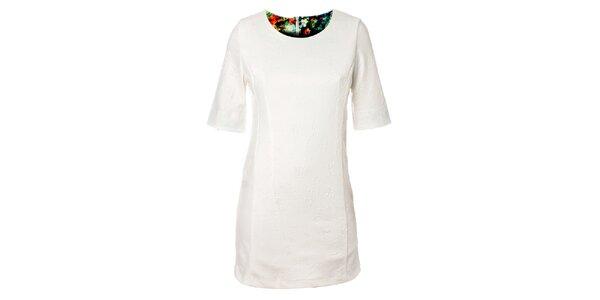 Dámské bílé šaty Kzell