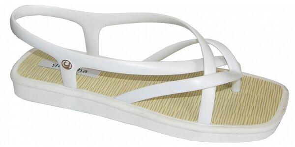 Dámské bílé sandále Grendha