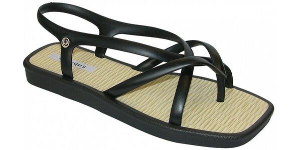 Dámské černé sandále Grendha