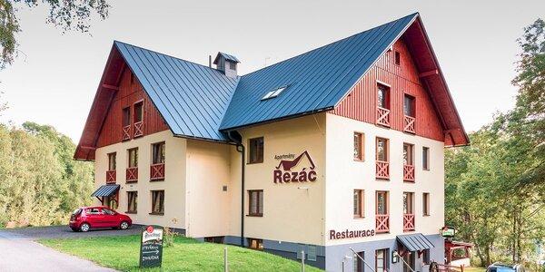Útulné apartmány Řezáč v Krkonoších pro dva