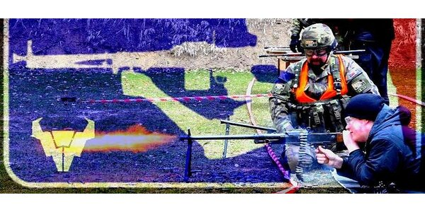 Střelby ve stylu AČR – 125 nábojů vystřílených pod dohledem instruktora