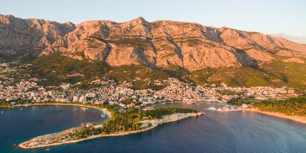 Týden v Chorvatsku v apartmánu kousek od moře