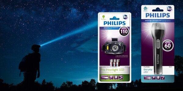 Posviťte si svítilnou nebo čelovkou Philips