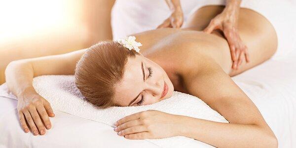Hodinová masáž a případně relax v solné jeskyni