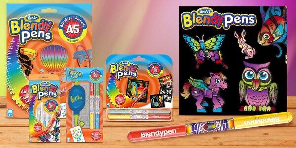 Míchací fixy Blendy pens pro malé kreativce