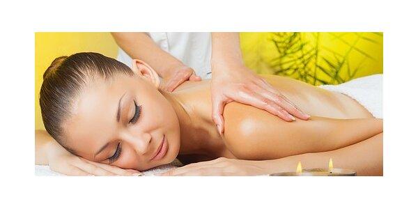 Výběr ze 3 druhů úžasných 60 minutových relaxačních masáží