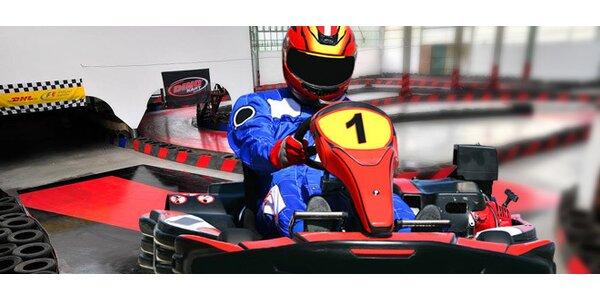 Zkuste pořádný adrenalin s příchutí benzínu, závodní motokáry pro muže či…