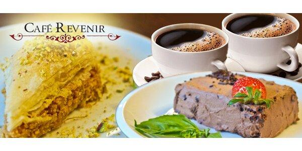 Evropské i orientální dezerty a kafe v Café Revenir