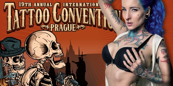 Vstupenka na festival Tattoo Convention 2017