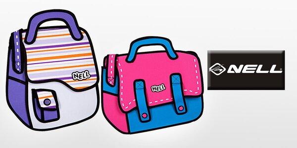 Komiksové 2D tašky značky Nell