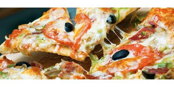 Dvě skvělé pizzy dle výběru v centru Brna