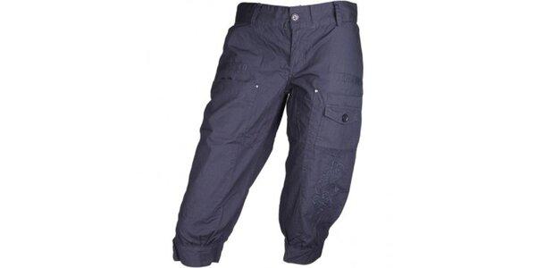 Dámské tmavě modré sportovní kalhoty Authority ve 3/4 délce