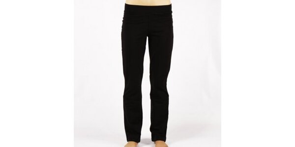 Dámské černé elastické kalhoty Authority