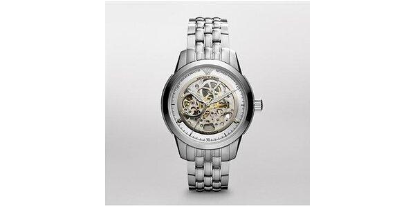 Pánské celoocelové hodinky Emporio Armani