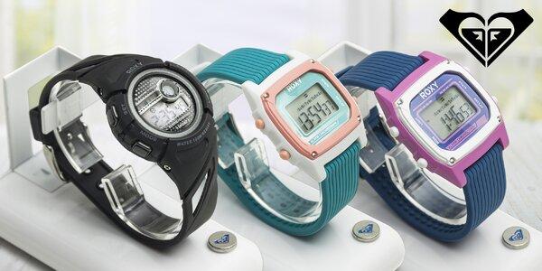 Dámské digitální hodinky Roxy s podsvícením