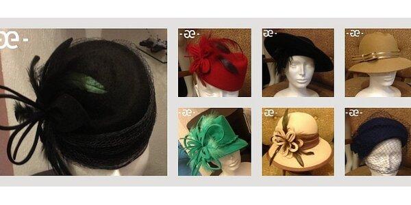 Ručně vyráběné klobouky na míru