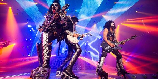 Kiss v Lucerně: dva lístky na záznam koncertu