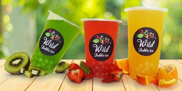 Kelímek libovolného čaje z baru Wild Bubble tea