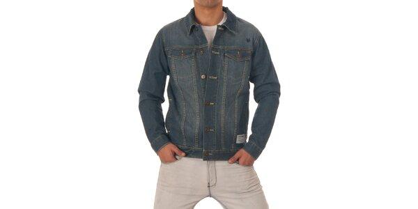 Pánská modrá džínová bunda Zoo York