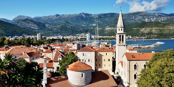 Týden u moře v Černé Hoře v penzionu se snídaní
