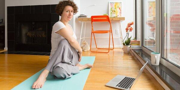 11týdenní online kurz jógy: neomezený přístup