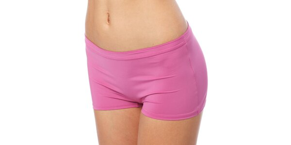 Dámské růžové nohavičkové kalhotky s cvočky Marlies Dekkers